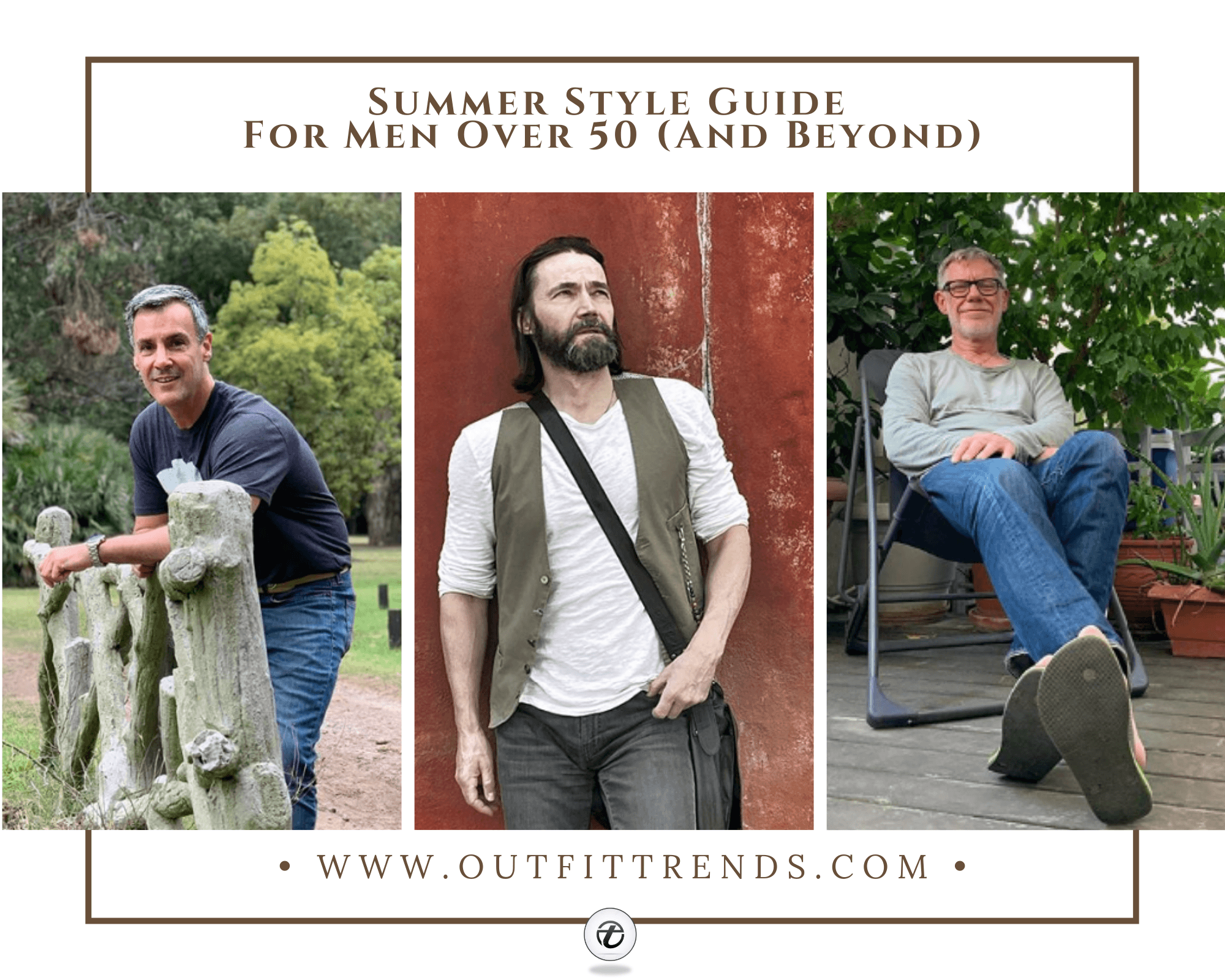 30 Best Summer Outfits For Men Over 50 To Stay Cool