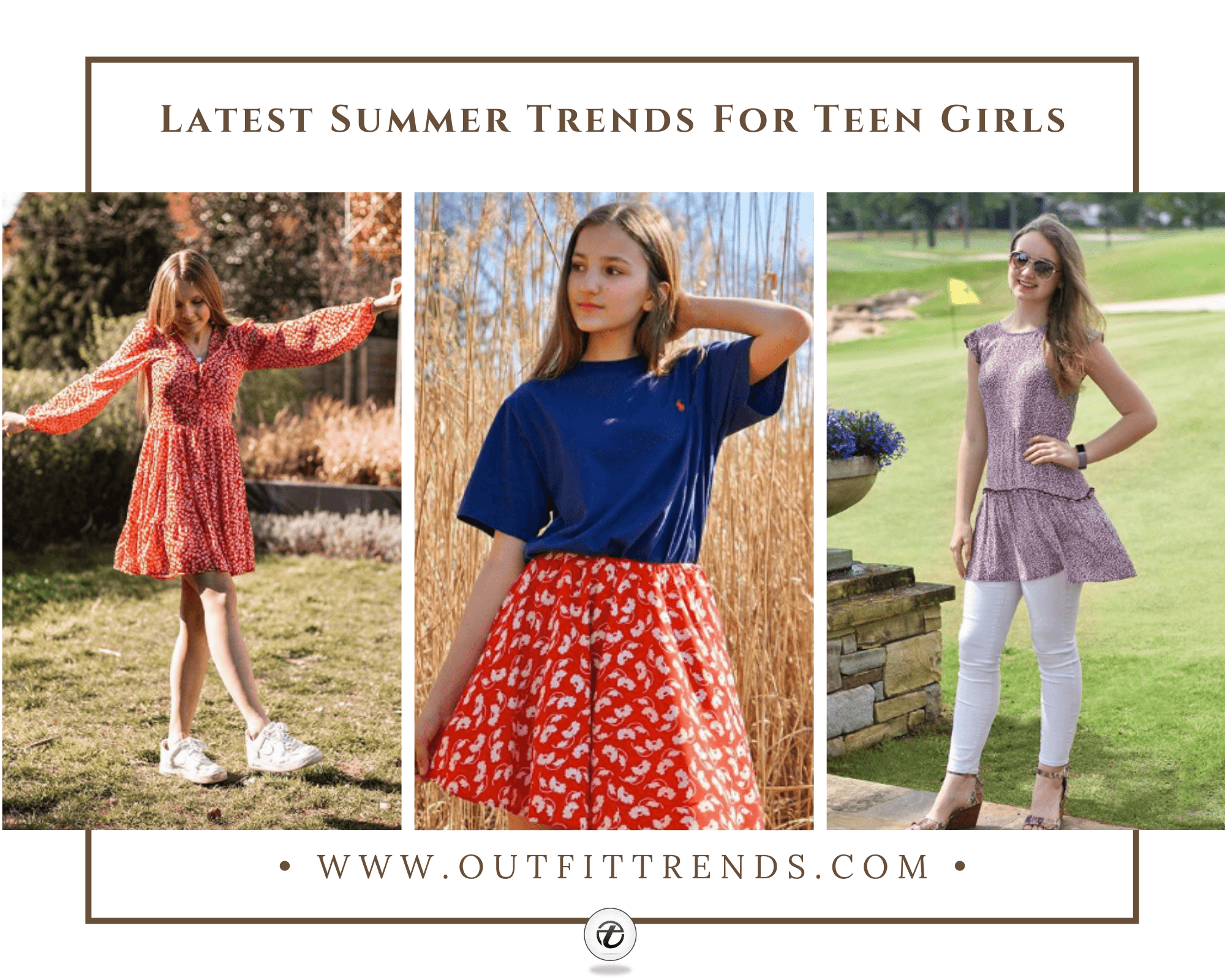 61 Chic Summer Outfits For Teen Girls 2021 – Summer Styles