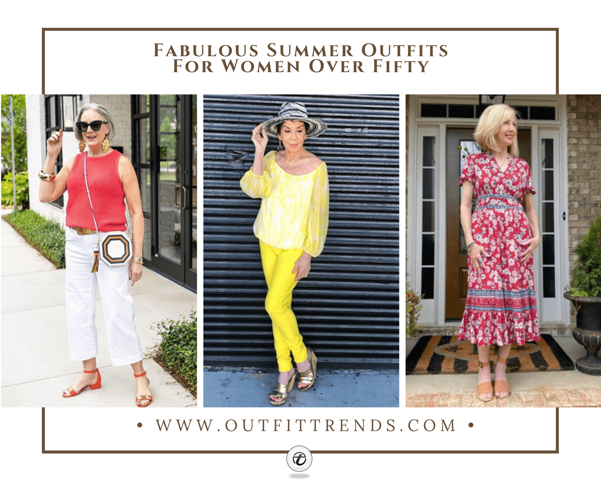 29 Best Summer Outfits for Women Over 50 With Styling Tips