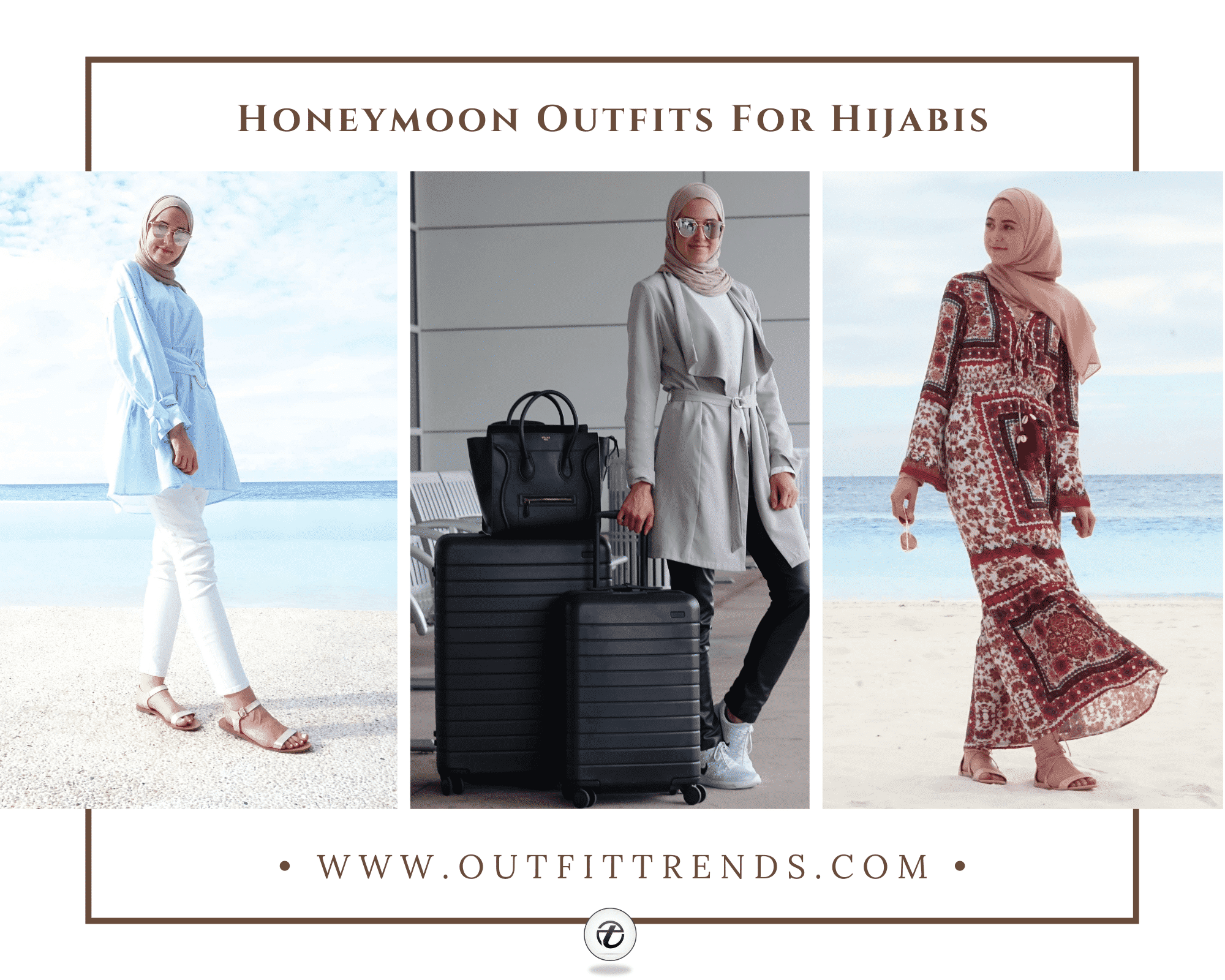 19 Modest But Stylish Hijab Outfits for Honeymoon