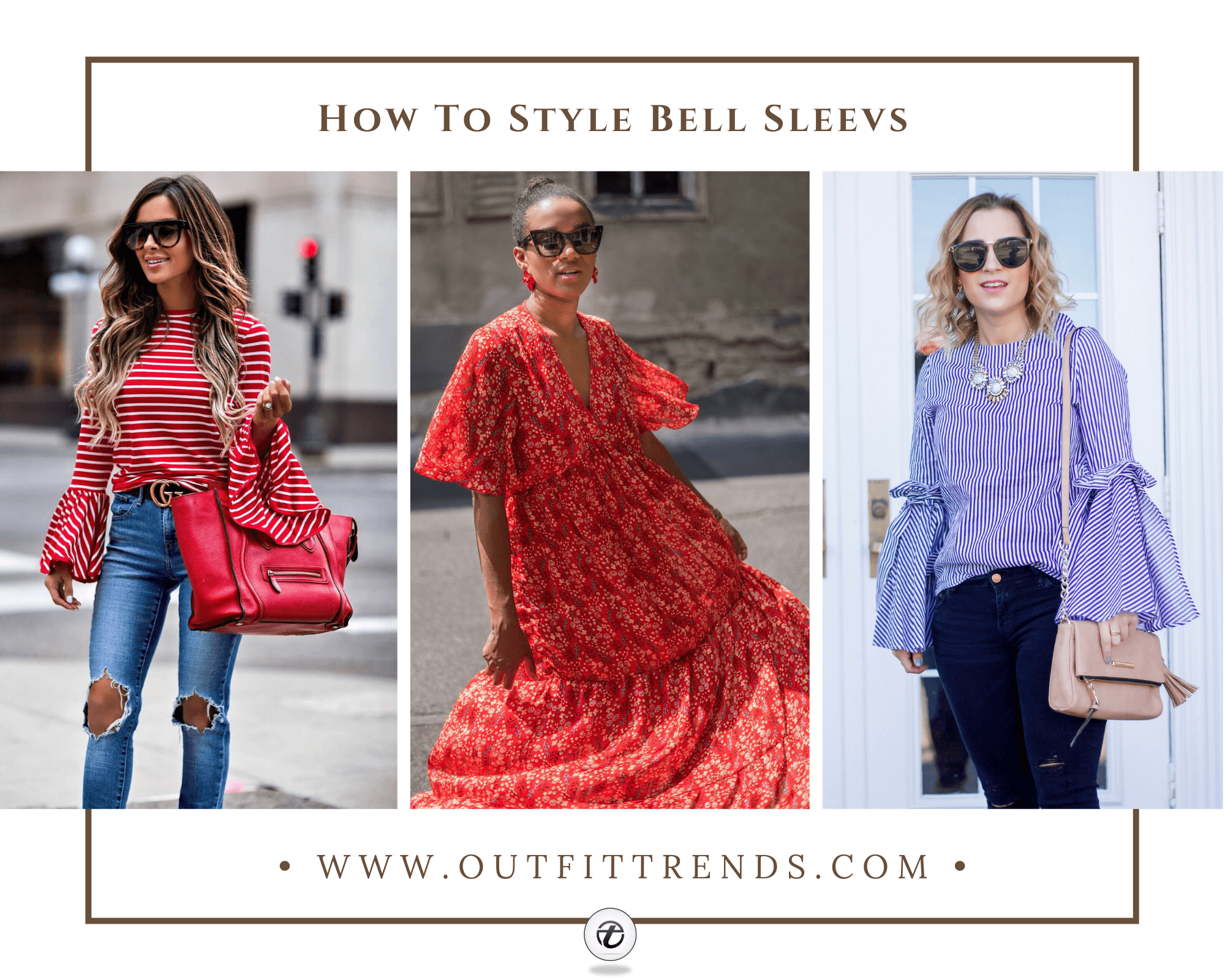 How to Wear Bell Sleeves – 56 Outfit Ideas with Bell Sleeves
