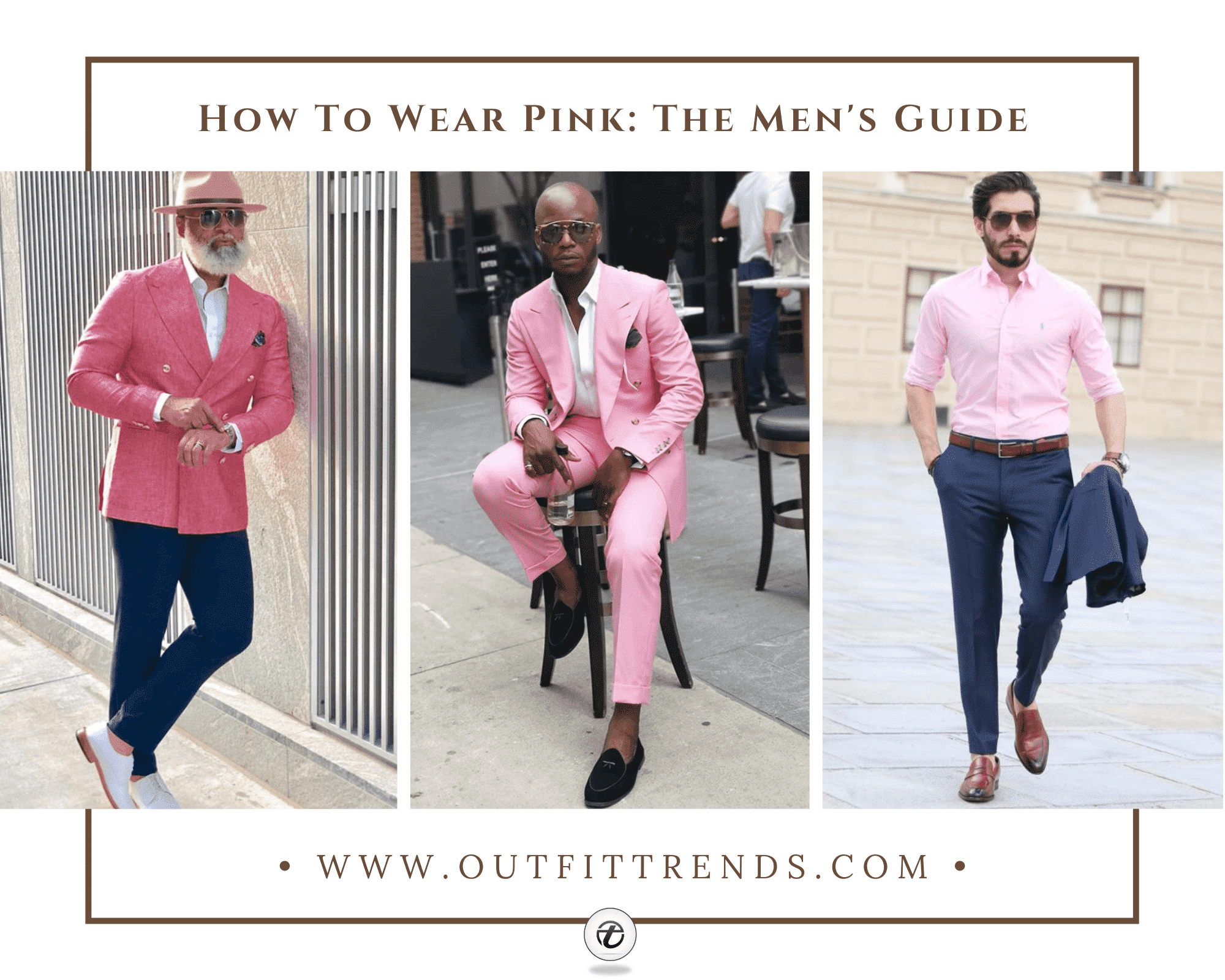 Pink Outfits for Men 23 Ways to Rock Pink Colored Outfits