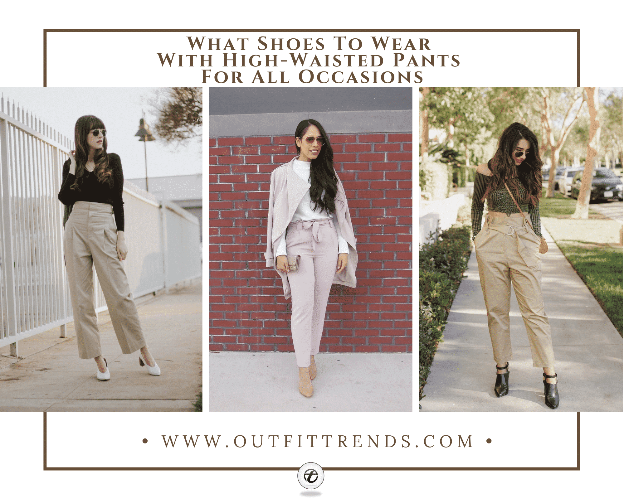 21 Best Women's Shoes To Wear With High Waisted Pants