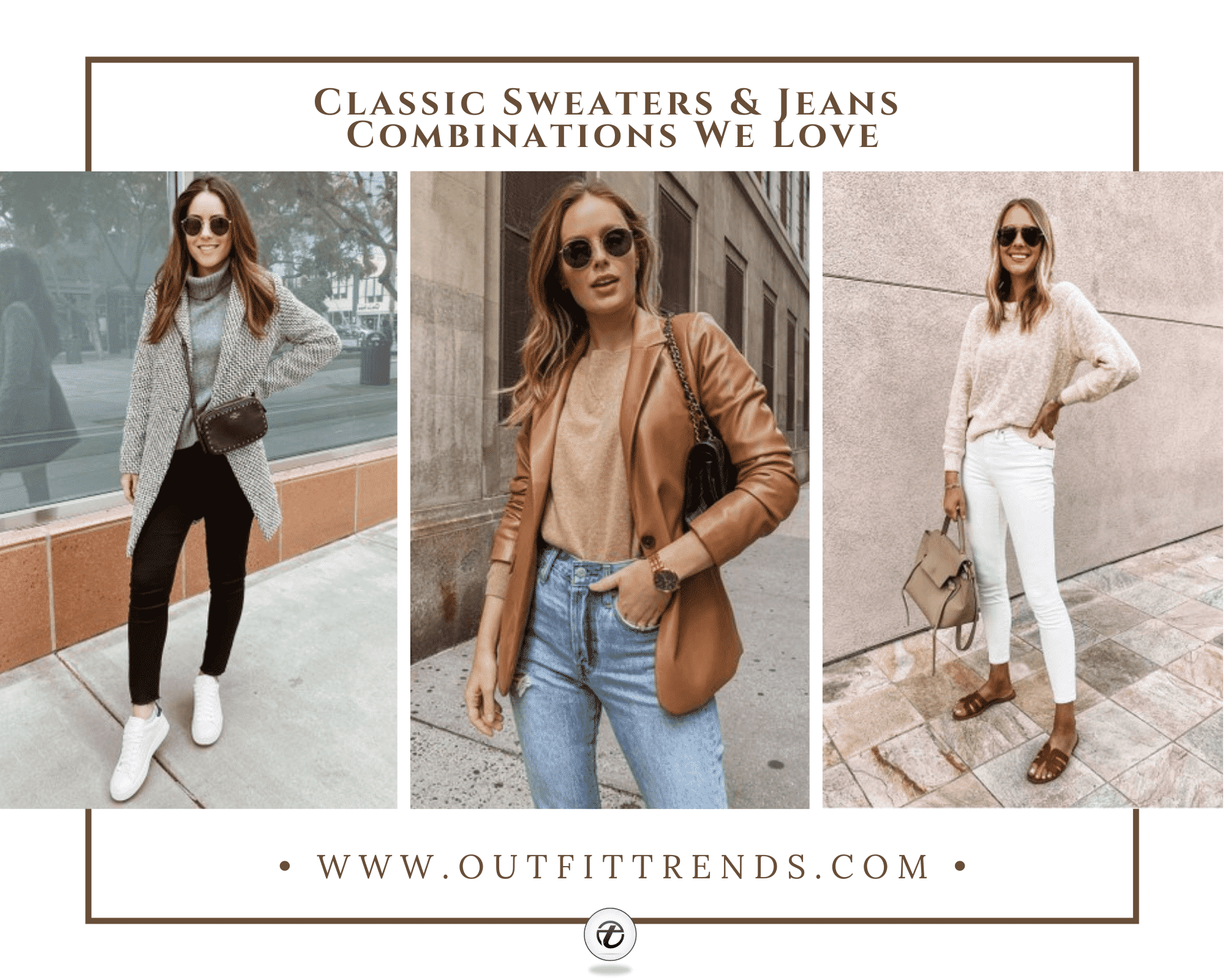 How to Wear Sweaters with Jeans 25 Ideas that Youll Love