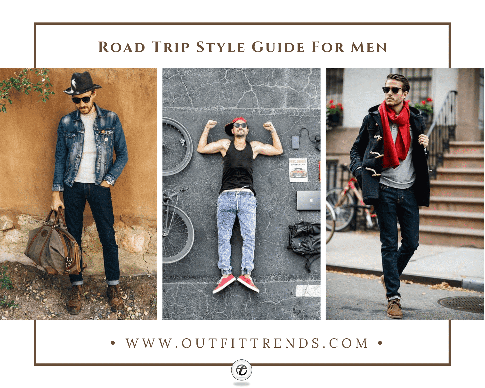 Men Road Trip Outfits29 Ideas on What to Wear for a Road Trip