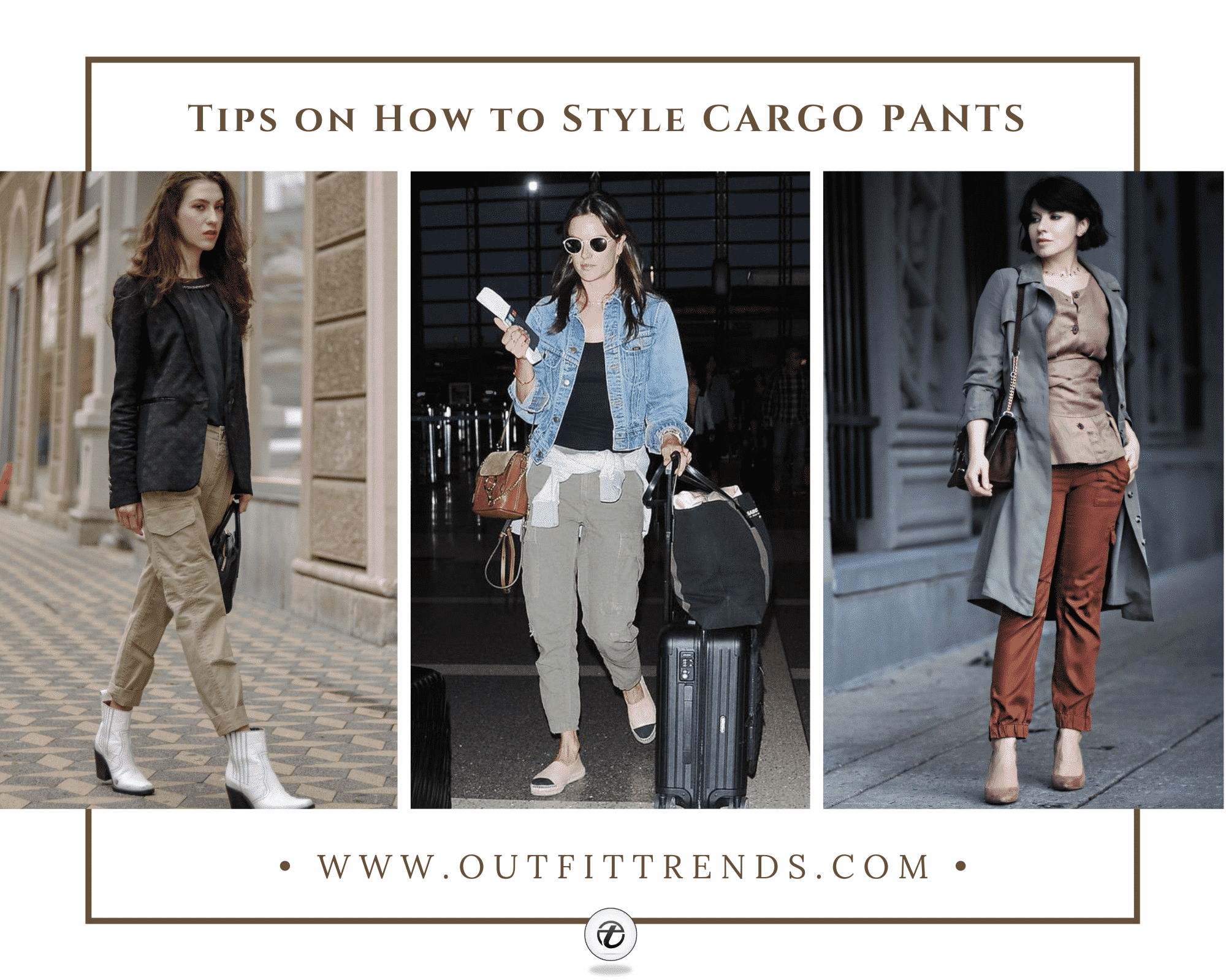 Women Cargo Pant Outfits21 Ways to Wear Style Cargo Pants