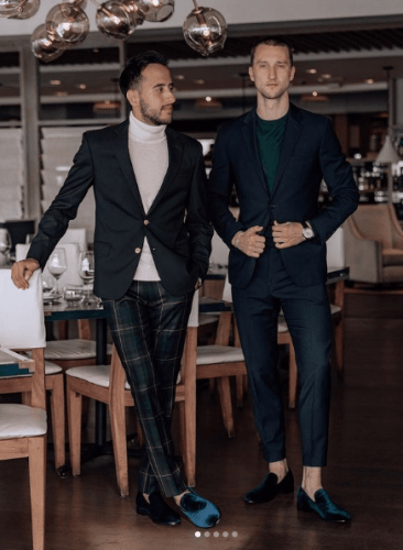 men work from home outfits