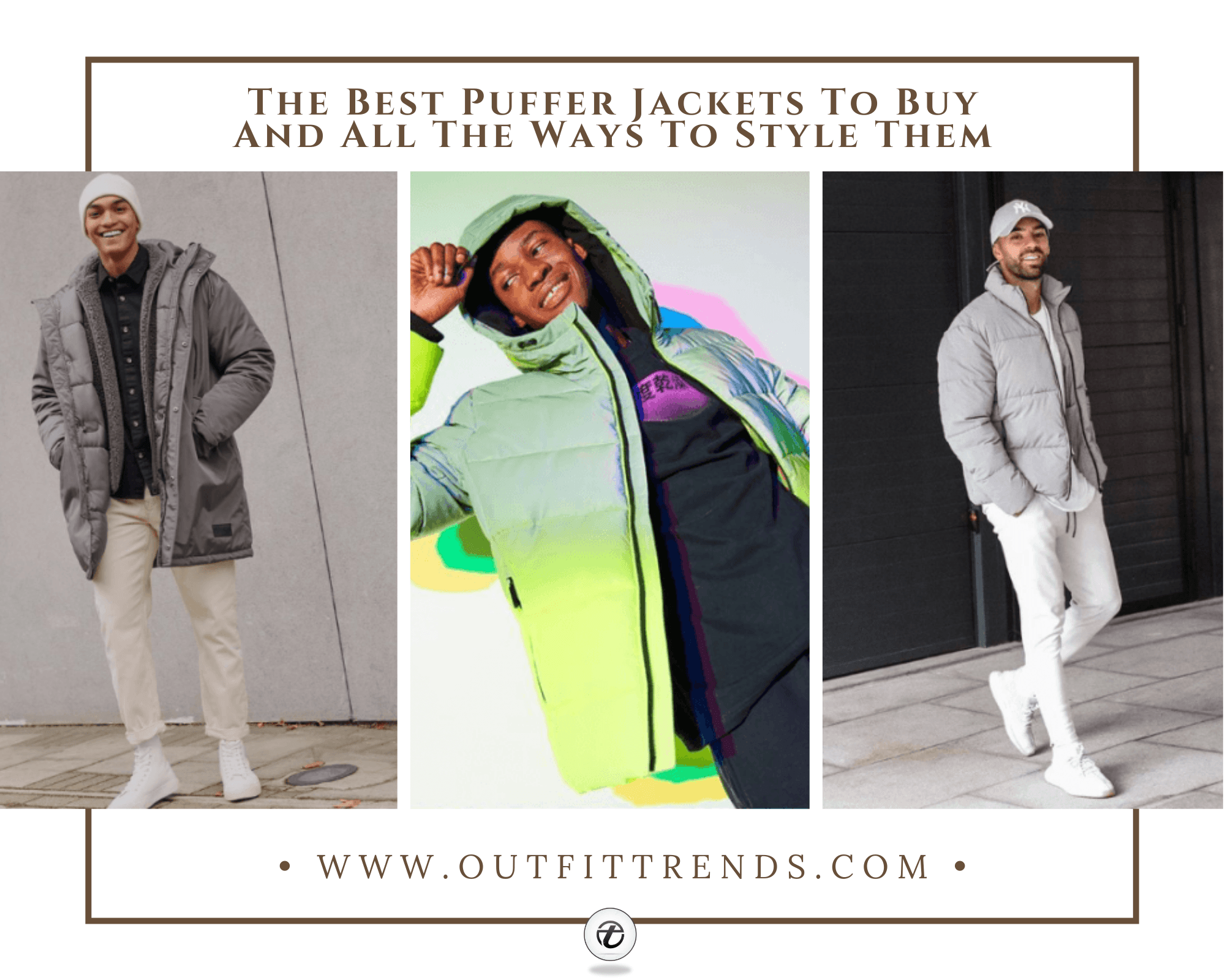 Puffer Jacket Outfits | Top 25 Puffer Jacket Styles For Men