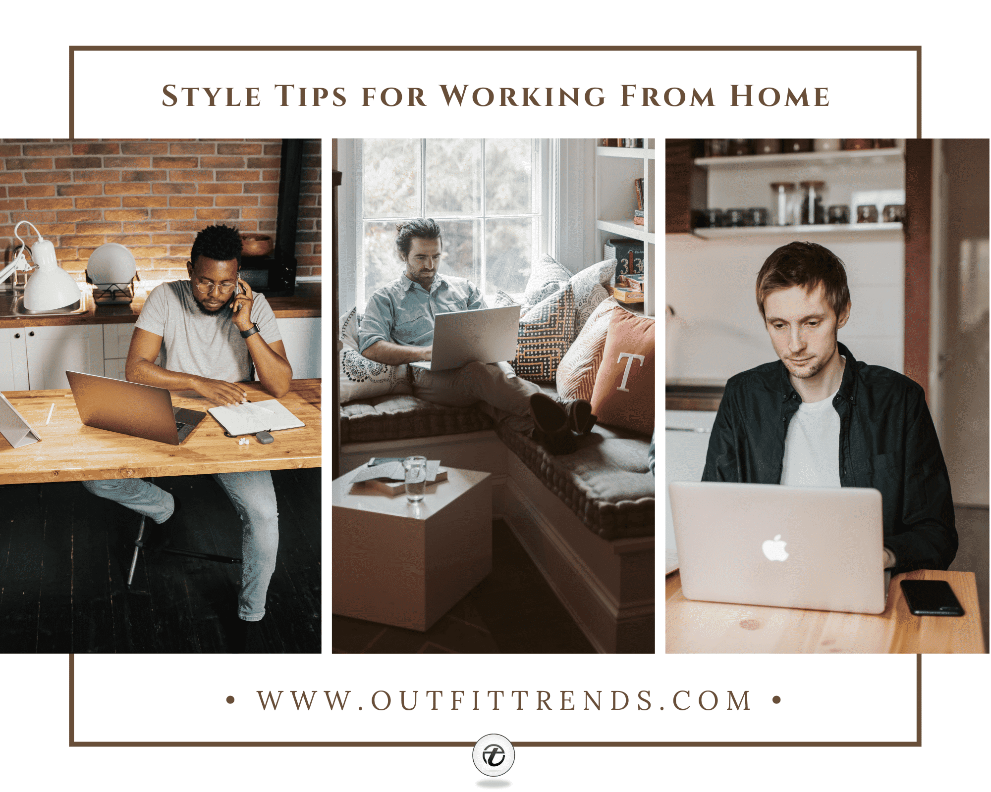 Men's WFH Style Guide| 35 Best Casual Work From Home Outfits