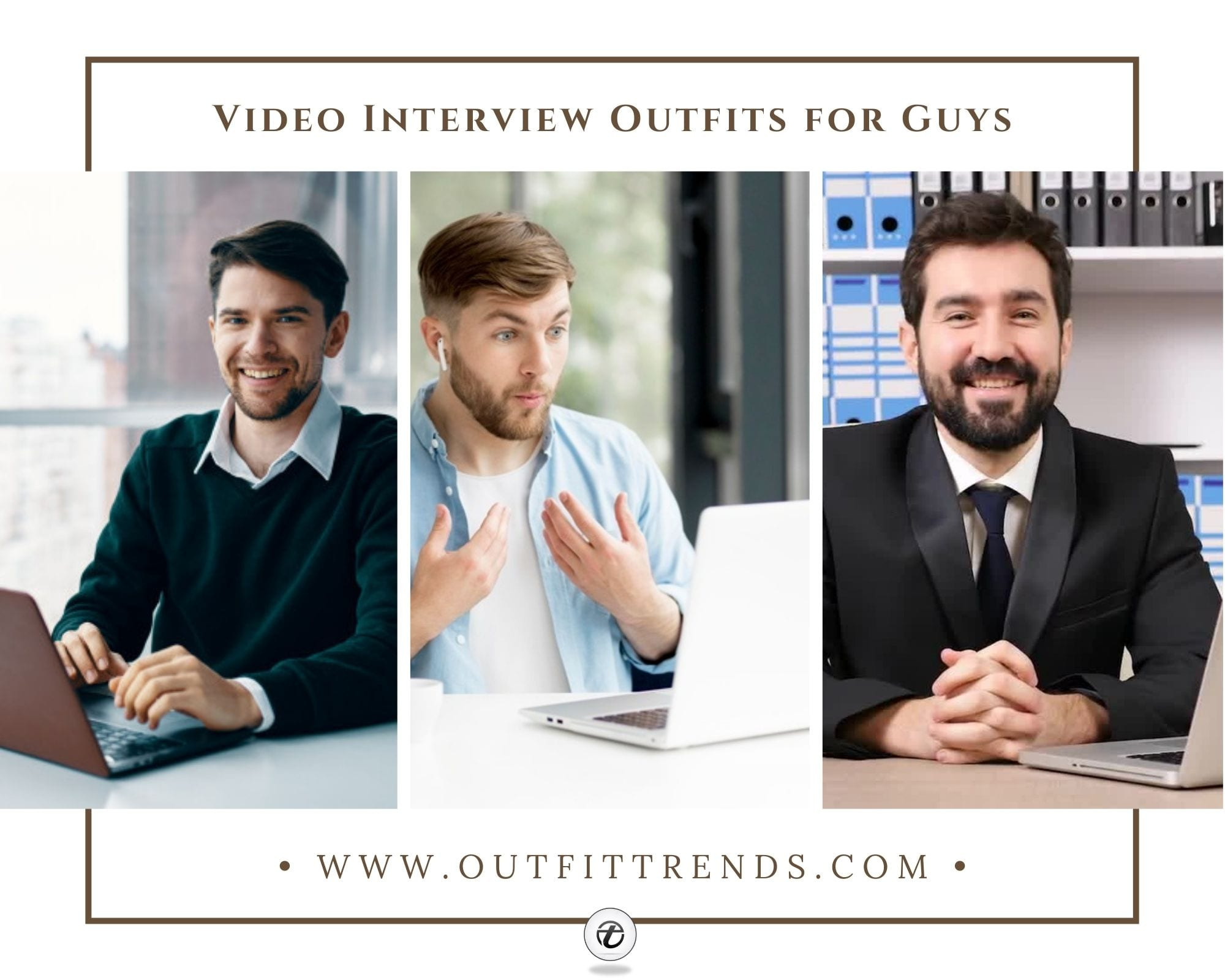 15 Best Video Interview Outfits for Men – The Dos and Dont's