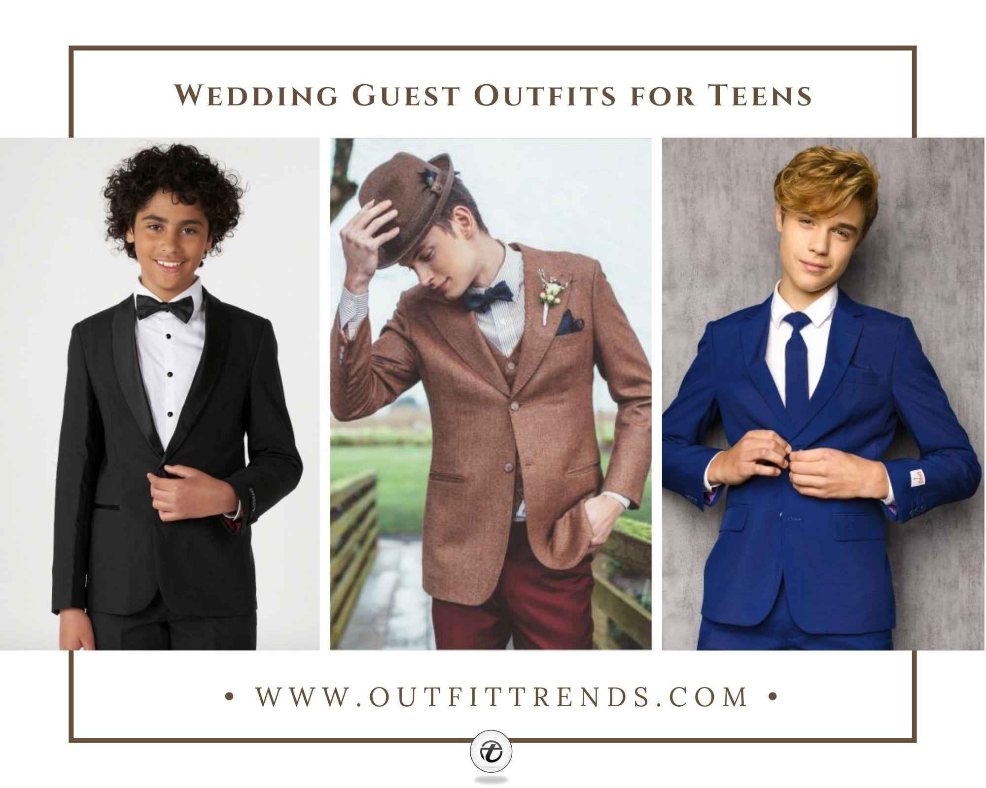 17 Best Wedding Guest Outfits for Teenage Boys