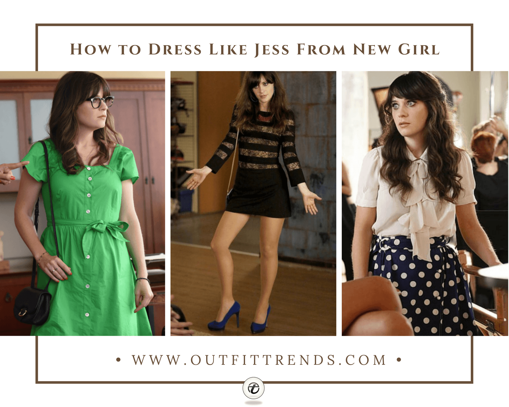 12 Best Outfits of Jess from New GirlHow to Dress like Jess