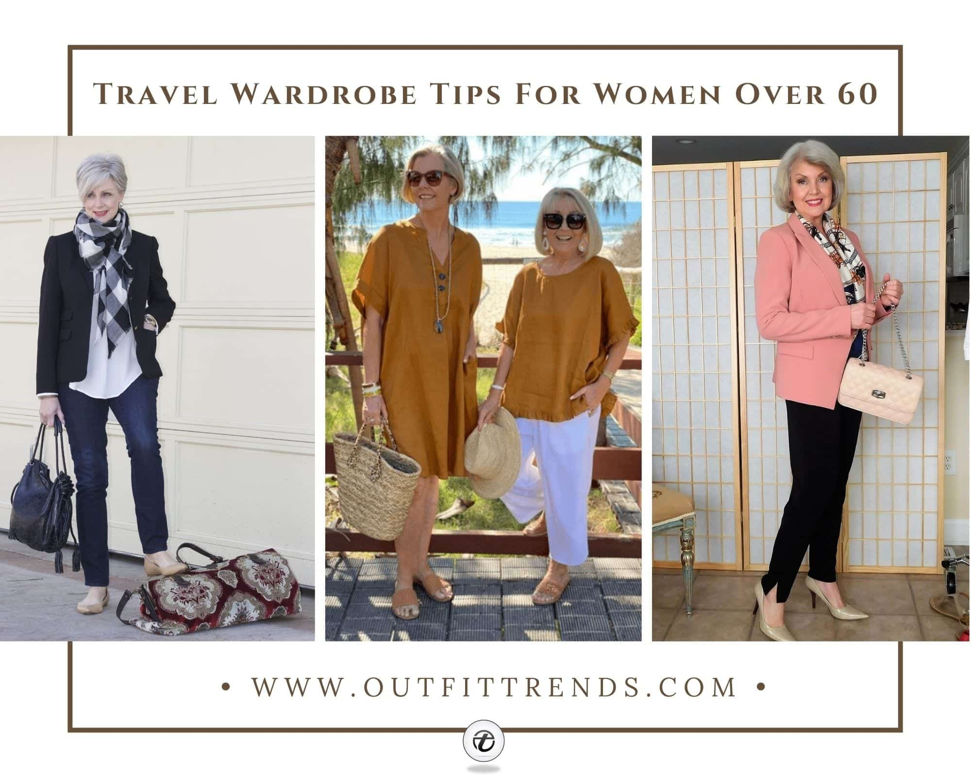 10 Comfortable Travel Outfits For Women Over 60