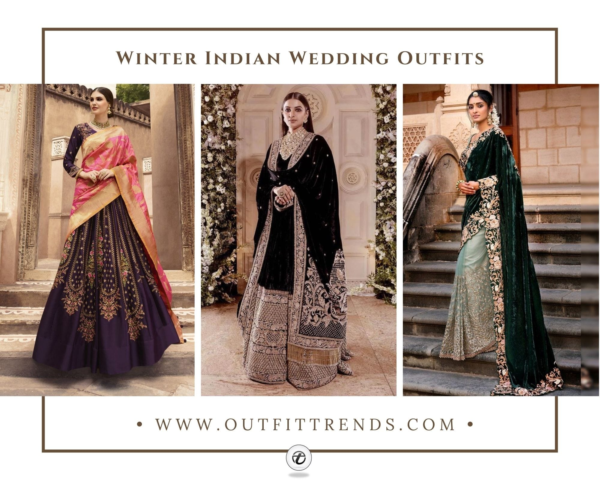 20 Ideas on What to Wear to an Indian Winter Wedding