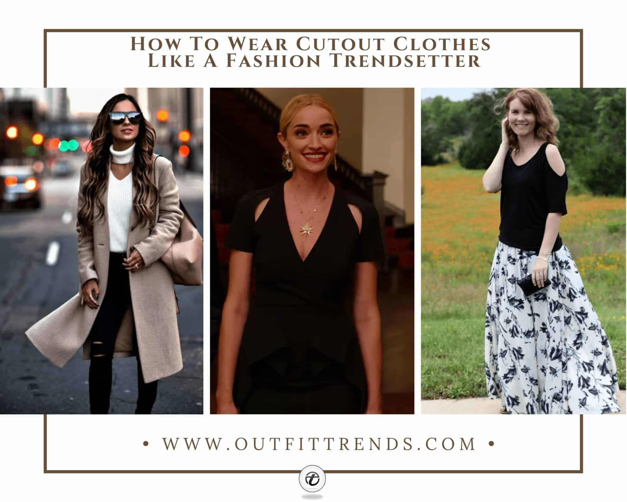 21 Best Cutout Dresses 2021 & Tips How to wear Cutout Clothes