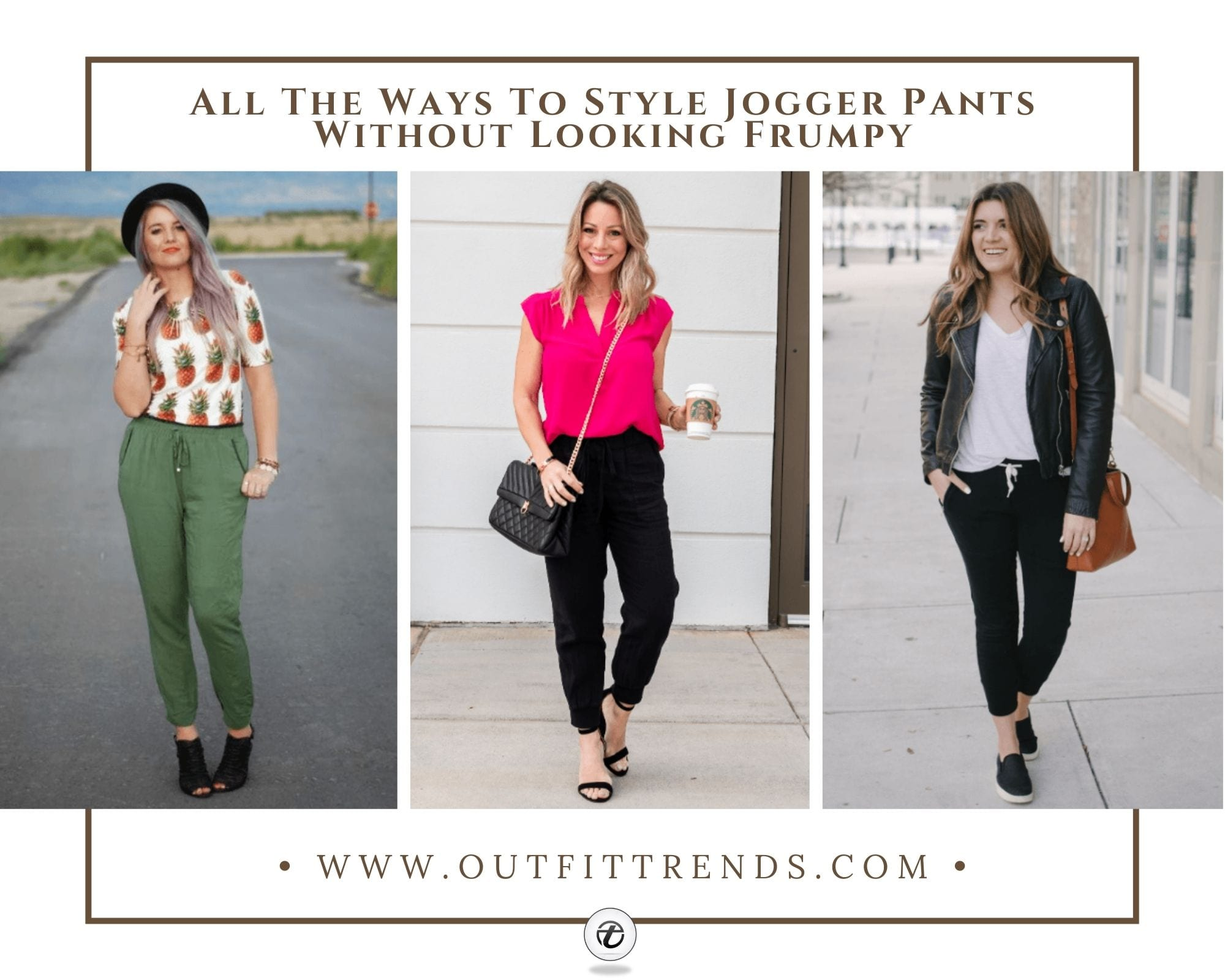 19 Jogger Pants Outfits | How to Style Joggers for Women