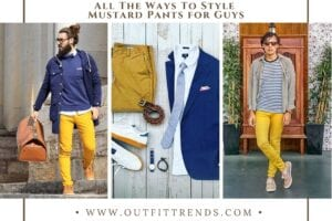 35 Best Men's Outfits with Mustard Pants To Wear in 2021