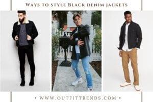 Black Denim Jacket Outfits For Men – 24 Ways To Wear Denim