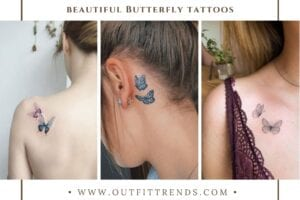 20 Best Butterfly Tattoos on The Internet That You Must Try