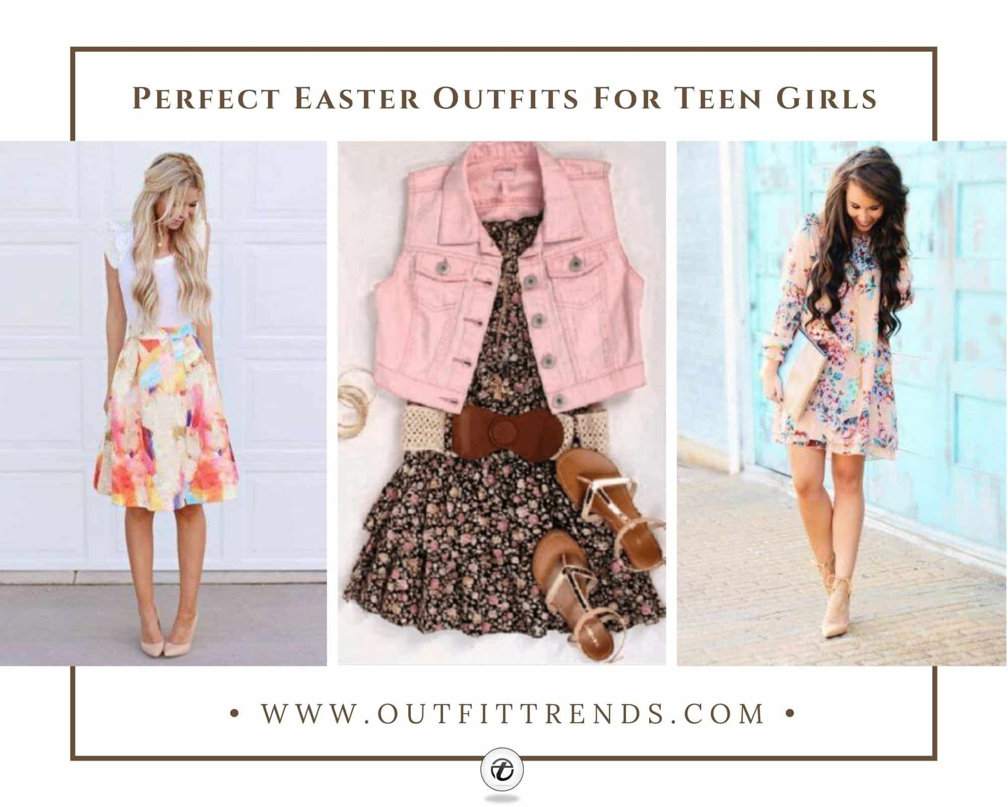 20 Trendy Easter Outfits for Teen Girls To Try In 2021