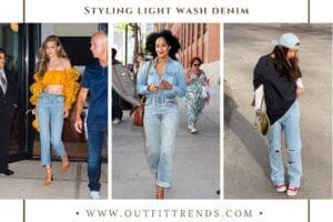 How to Wear Light Wash Jeans – 10 Washed Denim Outfit Ideas
