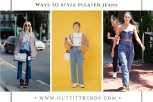 Women Pleated Jeans Outfits 15 Ways to Wear Pleated Jeans