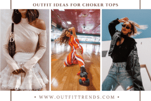 Choker Top Outfits 36 Ideas on How to Wear Choker Tops