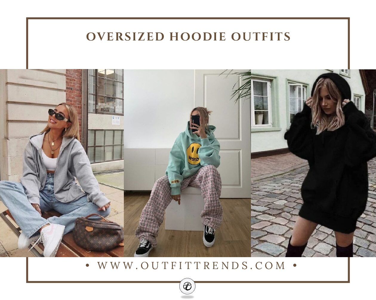 31 Best Oversized Hoodie Outfits to Wear This Year