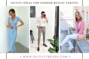 48 Beautiful Gender Reveal Outfits for Guests to Wear