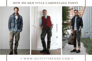 Camouflage Pants Outfits For Men
