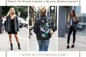 Black Denim Jacket Outfits – 12 Ways to Style Black Jackets