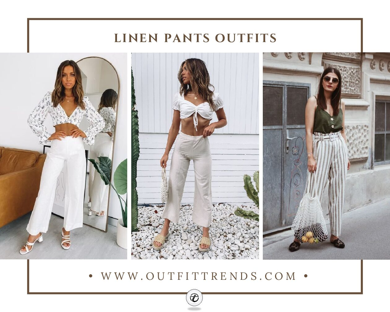 Linen Pants Outfits – 20 Ideas on How To Wear Linen Pants