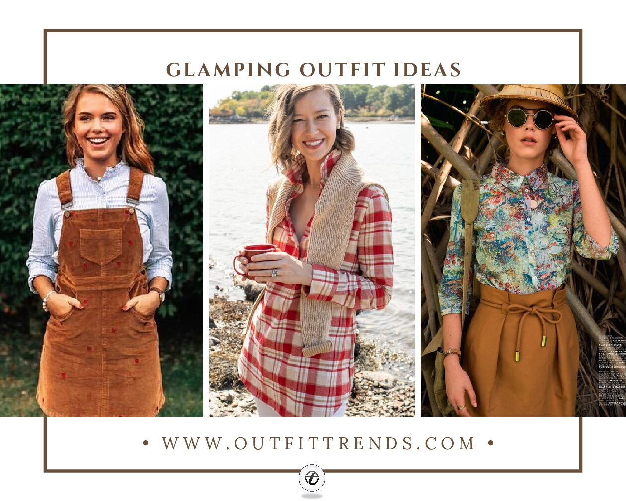 Girls Glamping Outfits: 20 Ideas On What To Wear To Glamping