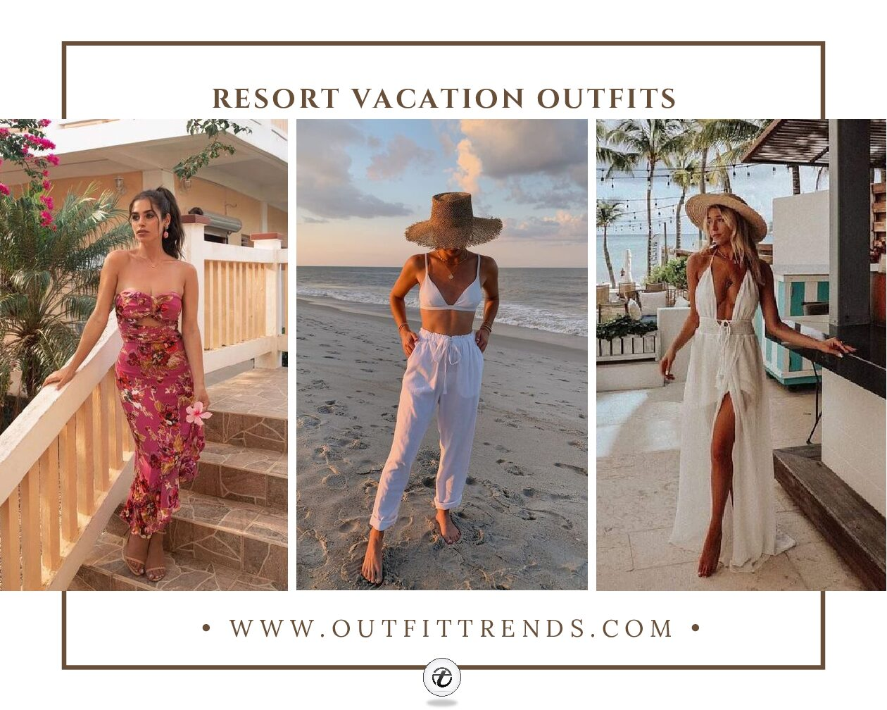 Resort Vacation Outfits – 20 Outfits To Pack For The Resort