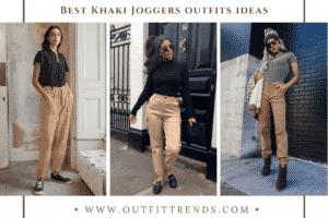 Khaki Joggers Outfits 20 Ways To Style Women Khaki Jogger