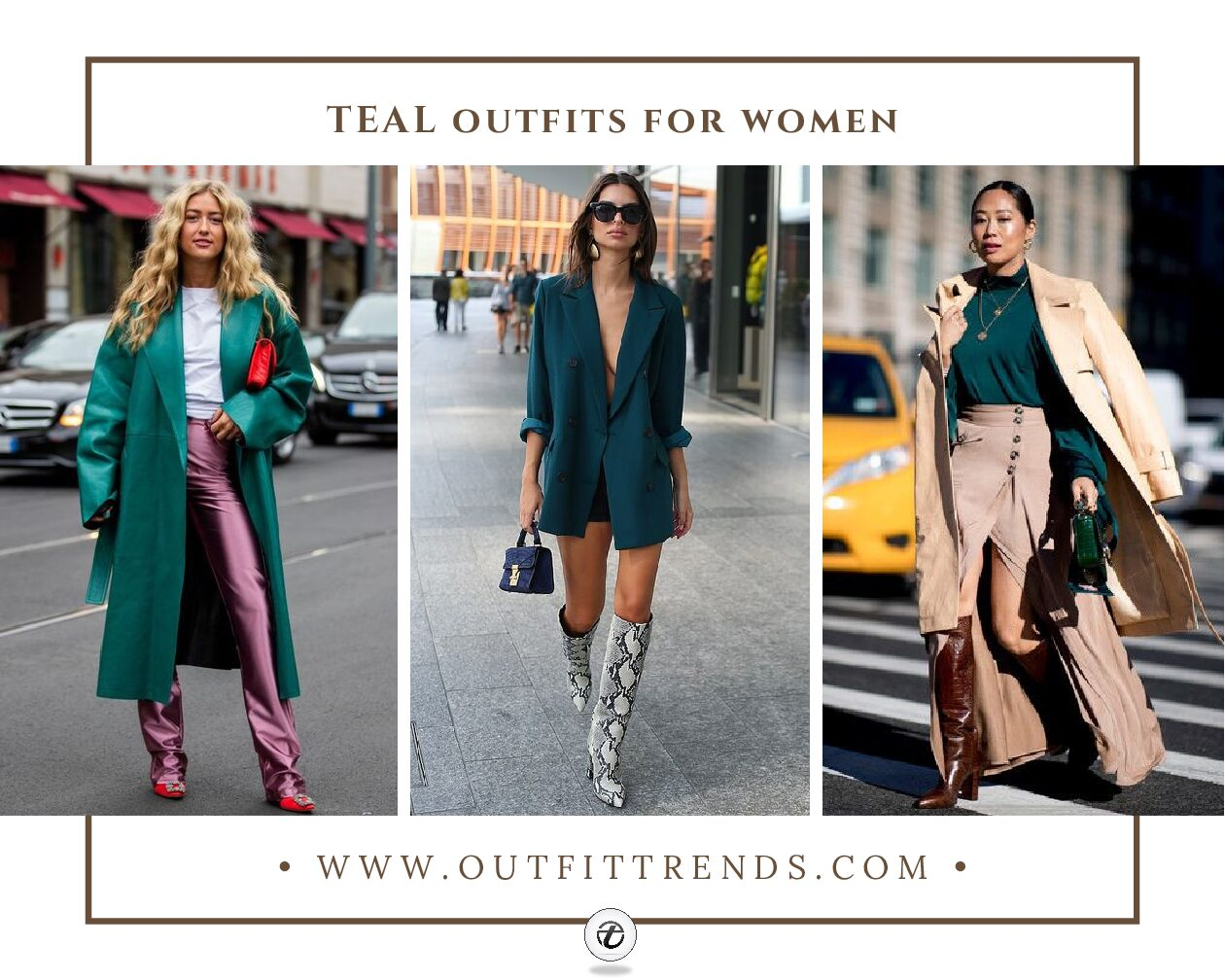 20 Best Teal Outfits for Women & Tips on What Goes with Teal