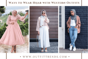 27 Modest Ways to Wear Hijab with Western Outfits in 2021