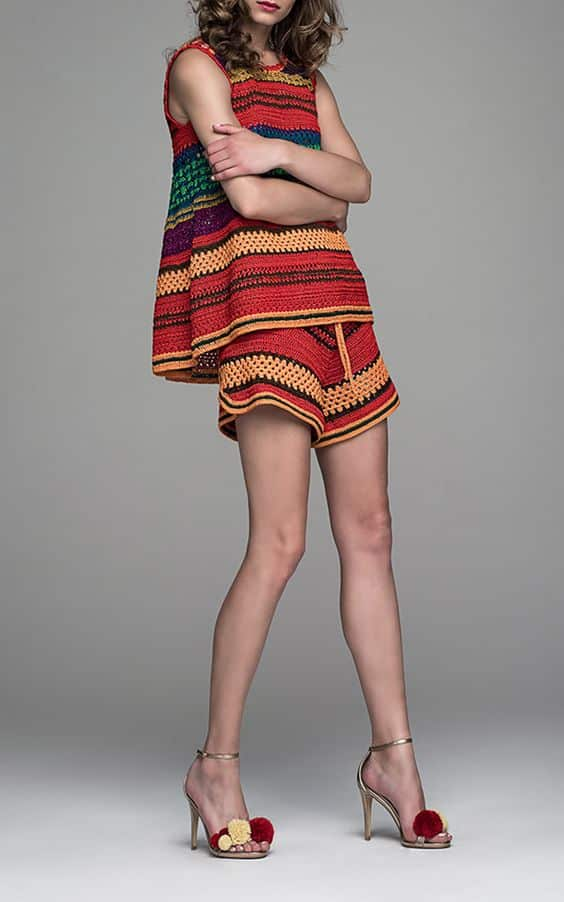 Crochet Shorts Outfits 20 Best Outfits With Crochet Shorts