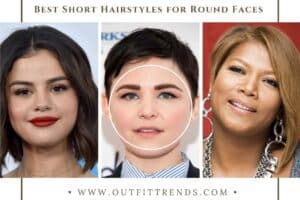 20 Best Short Hairstyles For Girls With Round Faces To Try